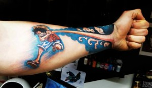 Luffy Tattoo Pictures