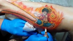 Luffy Tattoos