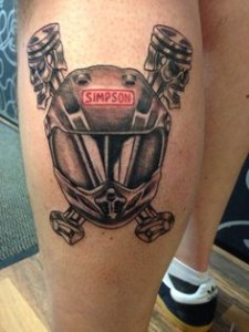 Motocross Tattoo