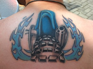 Motocross Tattoo Designs