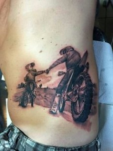 Motocross Tattoo Images
