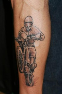 Motocross Tattoos Pictures