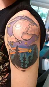 Night Sky Tattoo