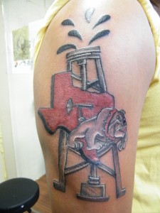 Oilfield Tattoo Designs