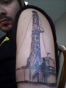 Oilfield Tattoos Frac