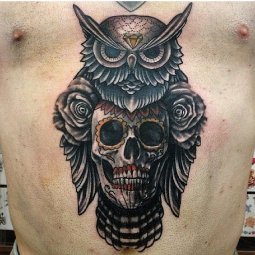 Owl Skull Tattoos Designs, Ideas and Meaning | Tattoos For You