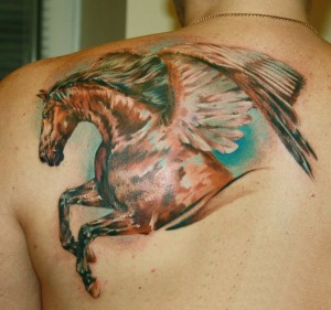 Pegasus Tattoo for Men