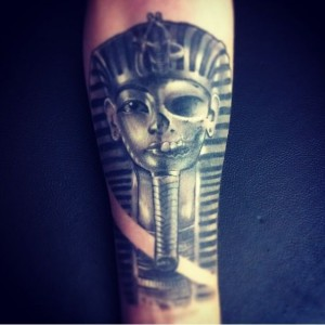 Pharaoh Tattoo Forearm