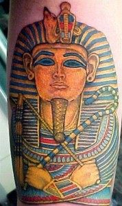 Pharaoh Tattoo Half Sleeve