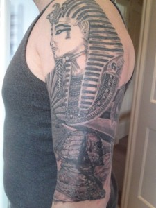 Pharaoh Tattoo Sleeve