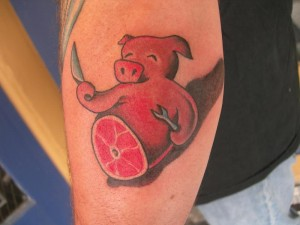 Pig Tattoo Images
