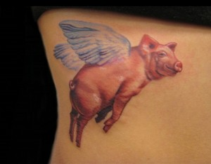 Pig Tattoo Pictures