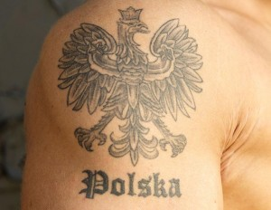 Polish Eagle Tattoo Arm