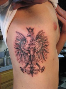 Polish Eagle Tattoos