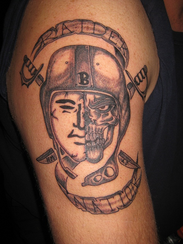 raiders tattoos designs ideas and meaning tattoos for you