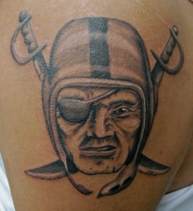 Raider Tattoos
