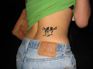 Raiders Tattoos for Girls