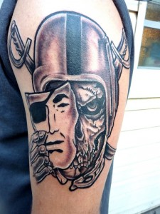 Raiders Tattoos for Men
