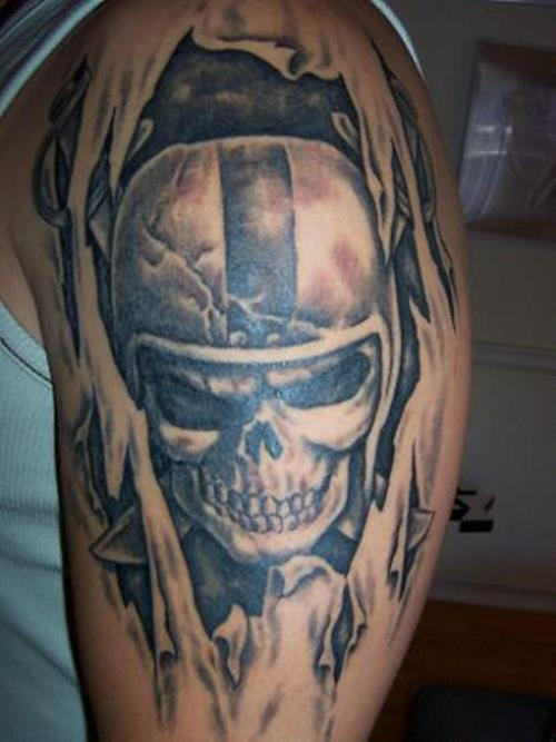 Raiders Tattoos Designs, Ideas and Meaning | Tattoos For You