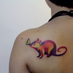 Rat Tattoos Designs, Ideas and Meaning | Tattoos For You Simple Lion Designs