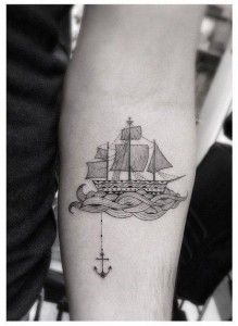 Sail Boat Tattoo