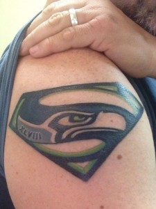 Seahawk Tattoo