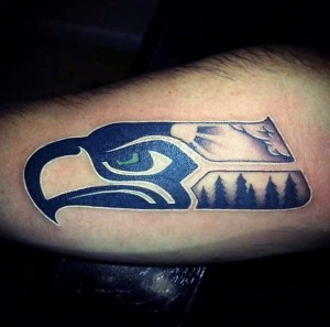 Seahawk Tattoos