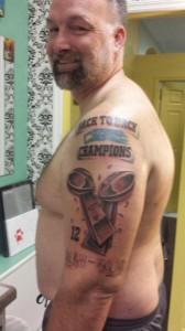 Seahawks Super Bowl Tattoo