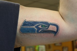Seahawks Tattoo Images
