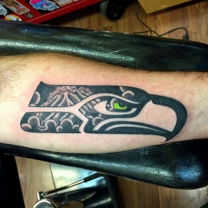 Seahawks Tattoo Sleeve