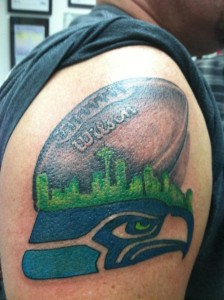 Seattle Seahawks Tattoo