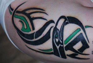 Seattle Seahawks Tattoo Designs