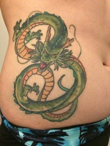 Shenron Tattoo Designs