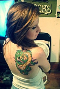 Shenron Tattoo Pictures