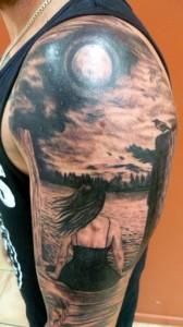 Sky Tattoos for Men