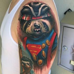 Sloth Goonies Tattoo