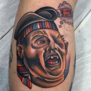 Sloth Tattoo Goonies