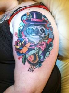 Sloth Tattoos