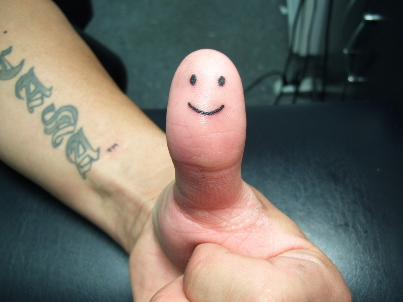 finger smiley images