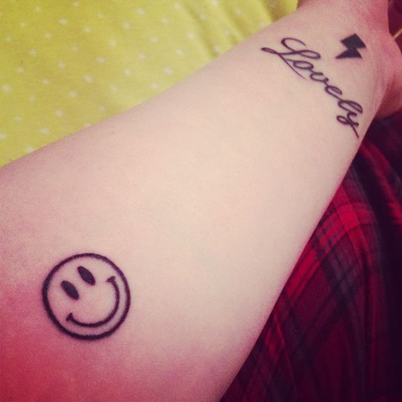 smiley face tattoos designs idea and meanings tattoos