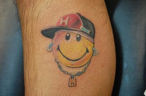Smiley Faces Tattoos