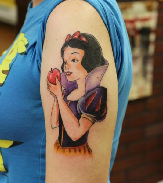 Snow White Tattoos Designs Ideas And Meaning Tattoos For You
