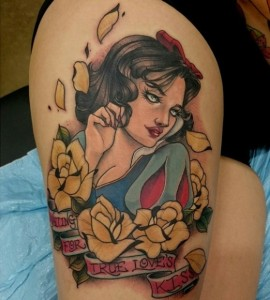 Snow White Tattoo Images