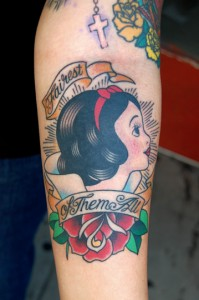 Snow White Tattoo Picturres