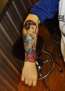 Snow White Tattoo Sleeve