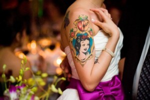 Snow White Tattoo Small