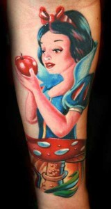 Snow White Tattoos