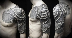 Spiral Tattoo Sleeve