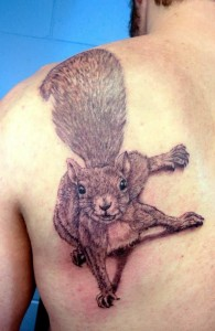 Squirrel Tattoos