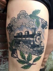 Steam Train Tattoos